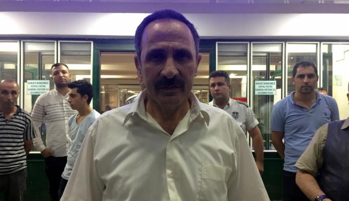 CHP Tunceli Milletvekili Şaroğlu'nun hastaneye kaldırılması