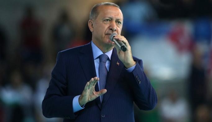 Cumhurbaşkanı Erdoğan: Meydan okuyoruz