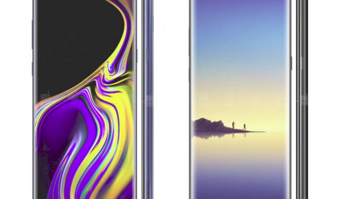 Galaxy Note 9 ve Samsung Note 8 arasındaki farklar