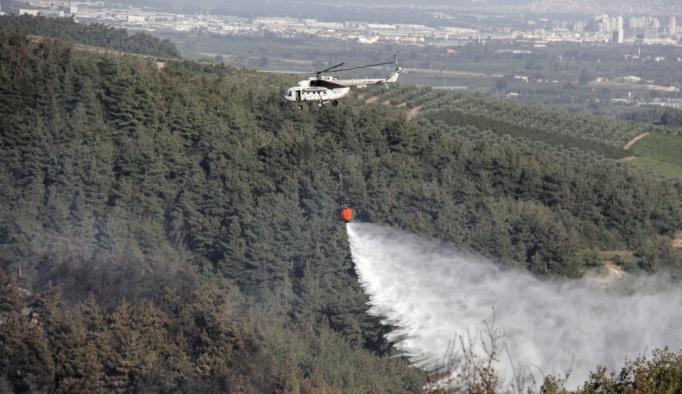 GÜNCELLEME 5 - Bursa'da orman yangını