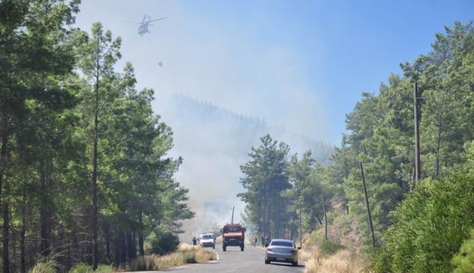 GÜNCELLEME - Antalya'da orman yangını