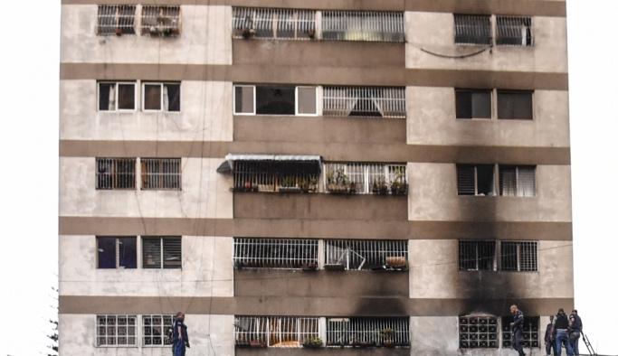 GÜNCELLEME- Venezuela Devlet Başkanı Maduro'ya bombalı saldırı