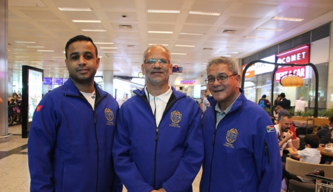 Güney Afrika'daki Osmanlı Kriket Kulübü'nden Türkiye'ye ziyaret