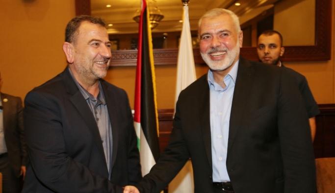 """""""Hamas'ın iki numaralı ismi"""" Aruri Gazze'ye döndü"""