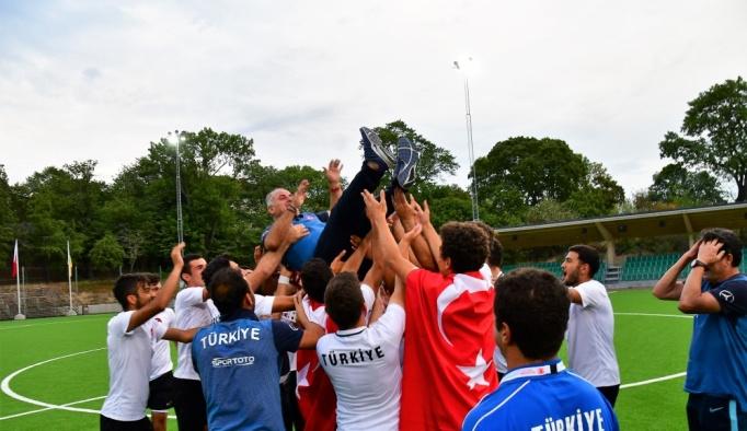 İşitme Engelliler Milli Takımı, Avrupa Şampiyonu oldu