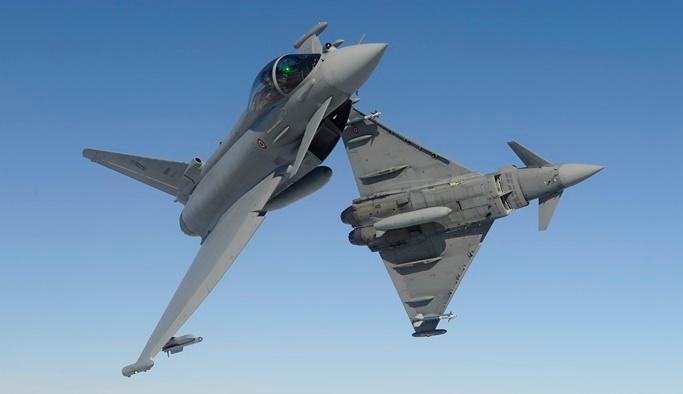 İspanyol savaş uçağı yanlışlıkla Estonya'da füze fırlattı
