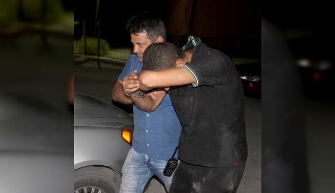 Konya'da hırsızlık güvenlik kamerasında