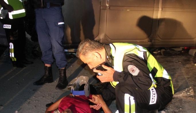 Konya'da trafik kazası: 2 ölü, 5 yaralı
