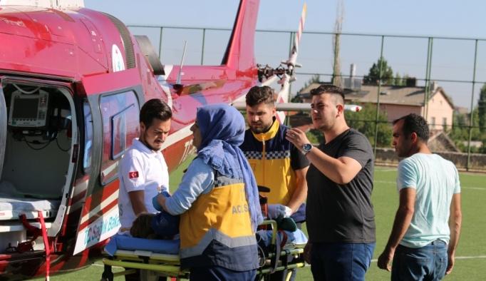 Konya'da üzerine kaynar süt dökülen çocuk ağır yaralandı