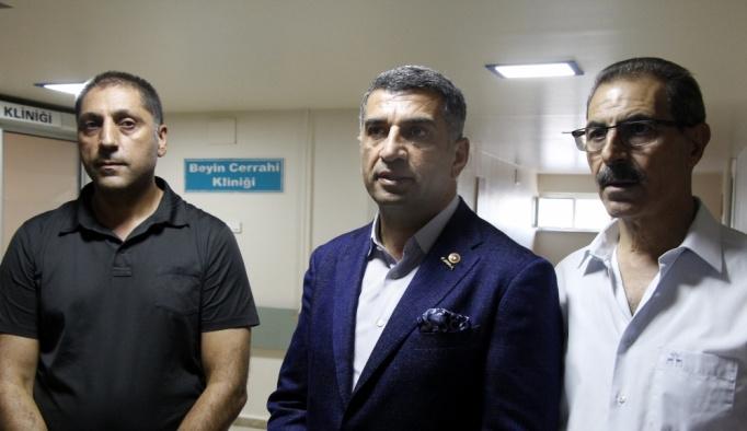 Milletvekili Polat Şaroğlu'nun hastaneye kaldırılması