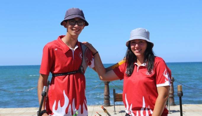 Milli okçular Mete ve Yasemin, olimpiyat madalyası peşinde