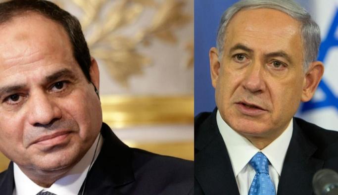 Netanyahu ile Sisi'nin gizlice görüşmüş
