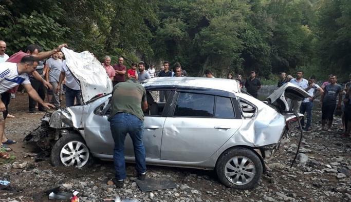 Ordu'da trafik kazası: 1 ölü, 4 yaralı