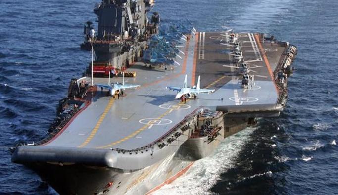 Rusya, Akdeniz'de 25 gemi ve 30 uçakla tatbikat yapacak