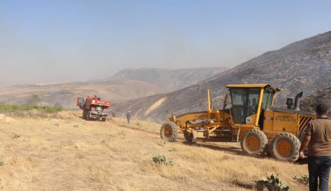 Siirt'te bağ ve bahçe yangını