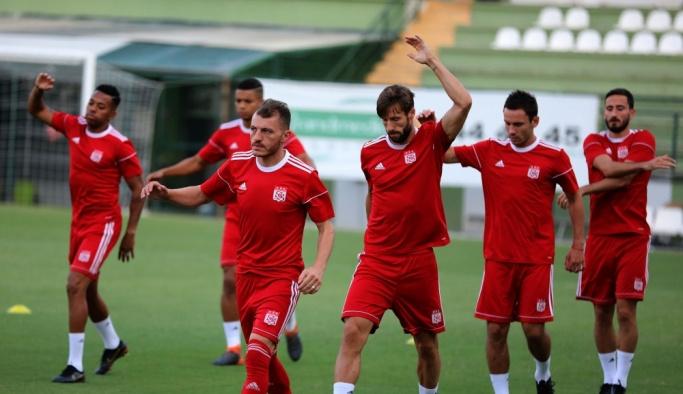 Sivasspor'da Akhisarspor maçı hazırlıkları