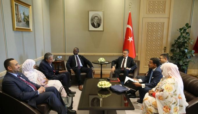 Sudan Cumhurbaşkanı Kıdemli Yardımcısı İbrahim Ankara'da