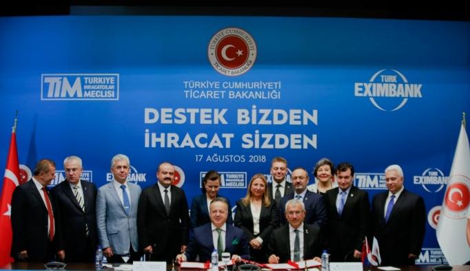 TİM ile Türk Eximbank arasında kaynak kullanımı protokolü