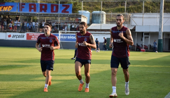 Trabzonspor, Galatasaray maçı hazırlıklarına başladı