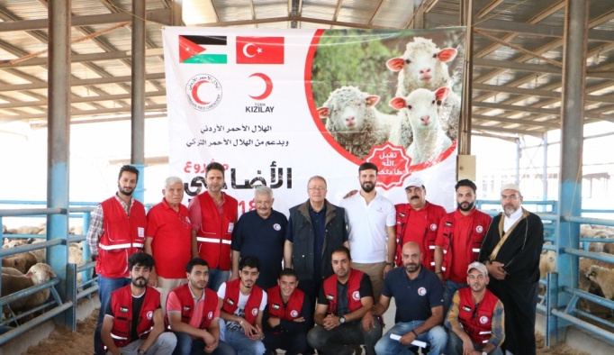 Türk Kızılayı Ürdün'de 700 kurban kesecek