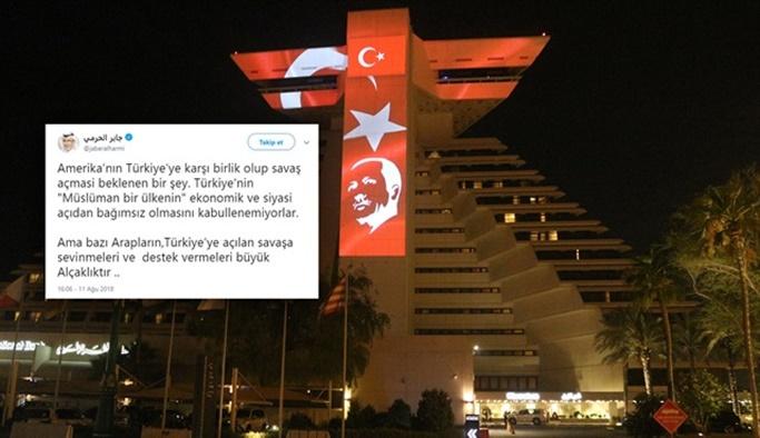 'Türkiye'ye açılan savaşa sevinenler alçaktır'