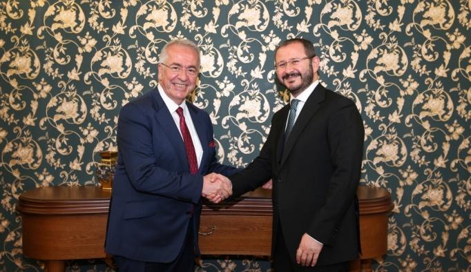 TÜSİAD'dan AA Genel Müdürü Kazancı'ya ziyaret