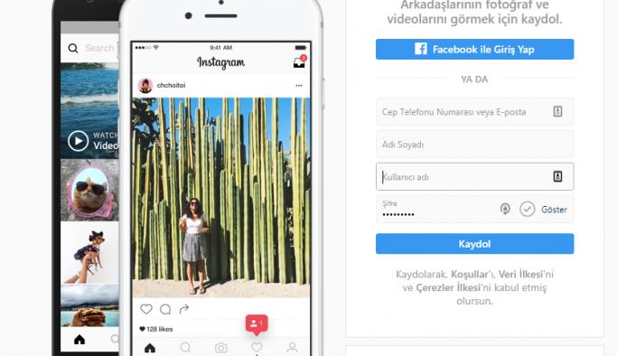 Instagram bilgisayardan giriş, resim paylaşım işlemi