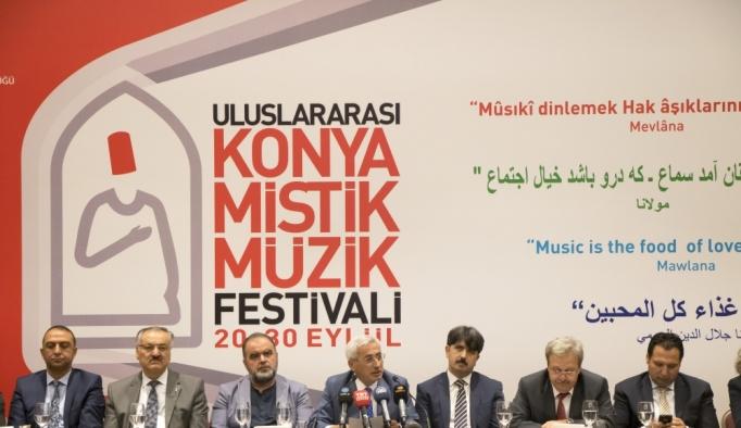 15. Uluslararası Konya Mistik Müzik Festivali'ne doğru