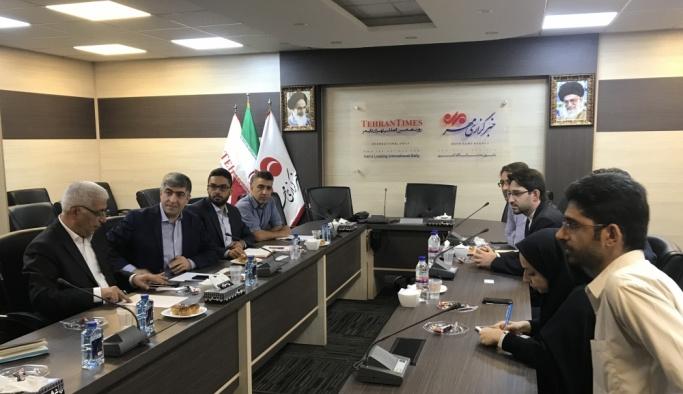 AA'dan İran'ın Mehr Haber Ajansı'na ziyaret
