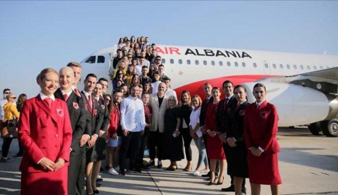 Air Albania ilk uçuşunu yaptı
