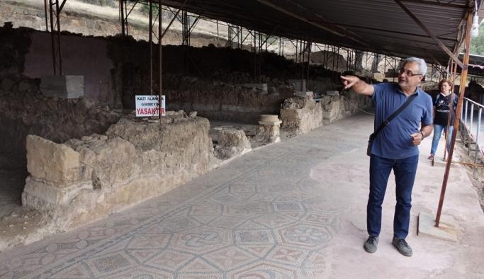 Antandros Antik Kenti'ne teknik gezi düzenlendi