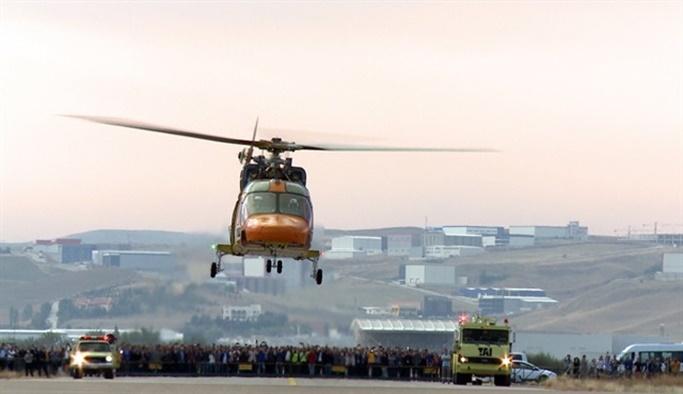 ATAK helikopteri T625'in yolunu açtı