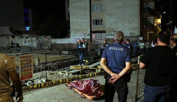 Aydın'da inşaatın temelinde göçük: 1 ölü