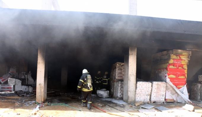 Aydın'da yangın