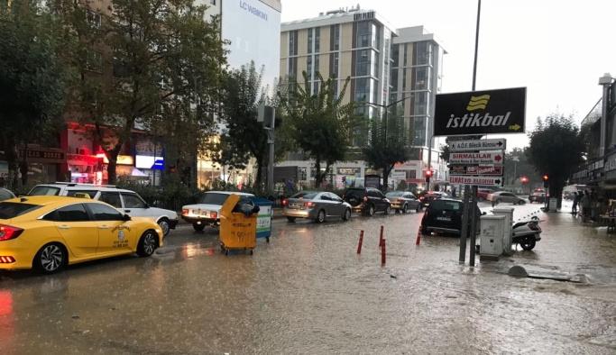 Bilecik'te şiddetli yağış