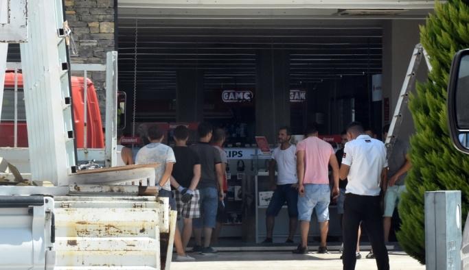 Bodrum'da mağazadan elektronik eşya hırsızlığı