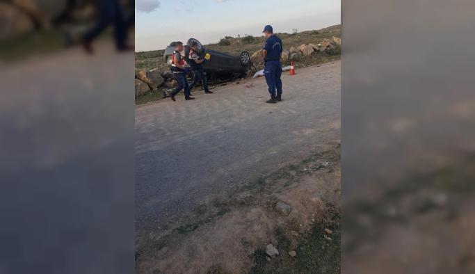 Bursa Karacabey'de kaza: 1 ölü, 1 yaralı
