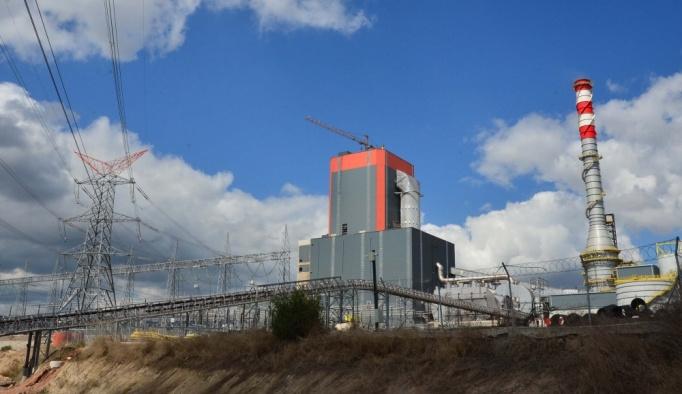 Çanakkale'de termik santralde yangın