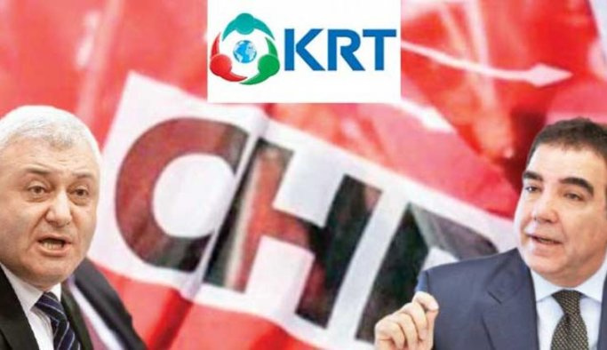 CHP'de KRT televizyonu krizi