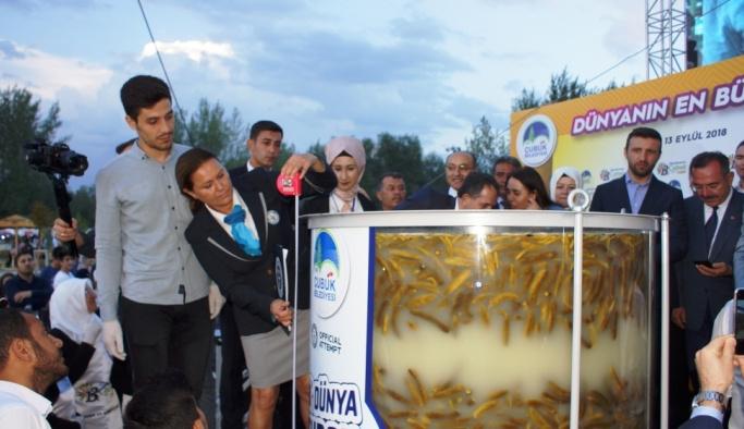 Çubuk turşusu Guinness Dünya Rekorlar Kitabı'nda