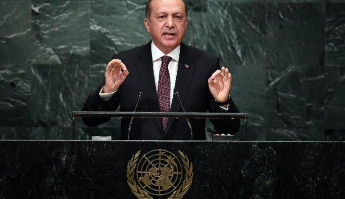 Cumhurbaşkanı Erdoğan'dan BM'de kritik mesajlar