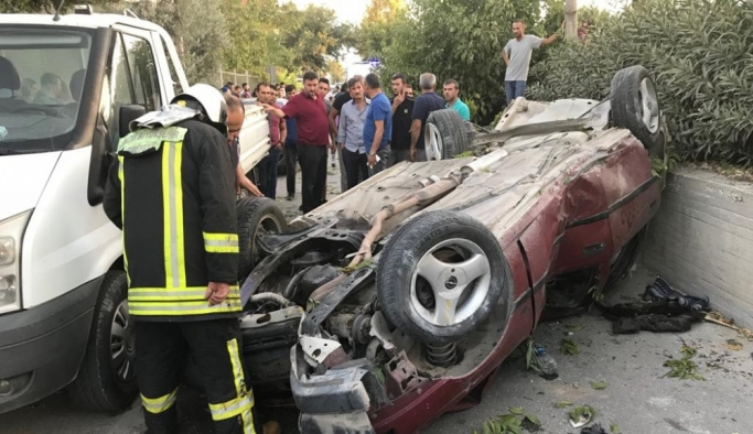 Denizli'de kaza: 1 ölü, 3 yaralı