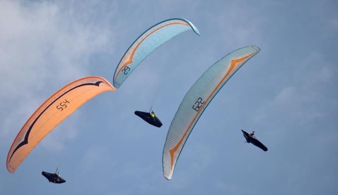 Dünyada yamaç paraşütünün gözdesi Hasandağı