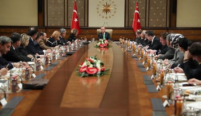 Erdoğan ABD'li şirket temsilcileri ile görüştü
