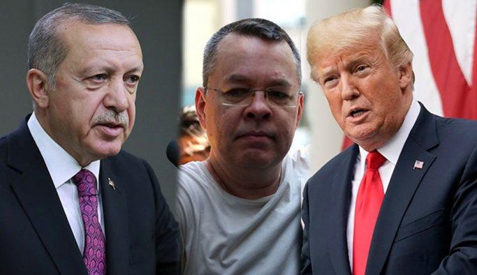 """Erdoğan: """"Brunson, bizim ekonomimizle alakası yok"""""""