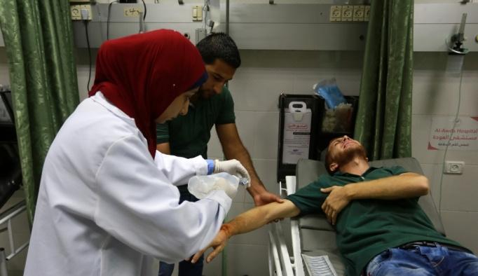 GÜNCELLEME - İsrail'den Gazzeli aktivistlere gerçek mermiyle müdahale