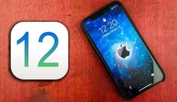 iOS 12 17 Eylül'de yayında