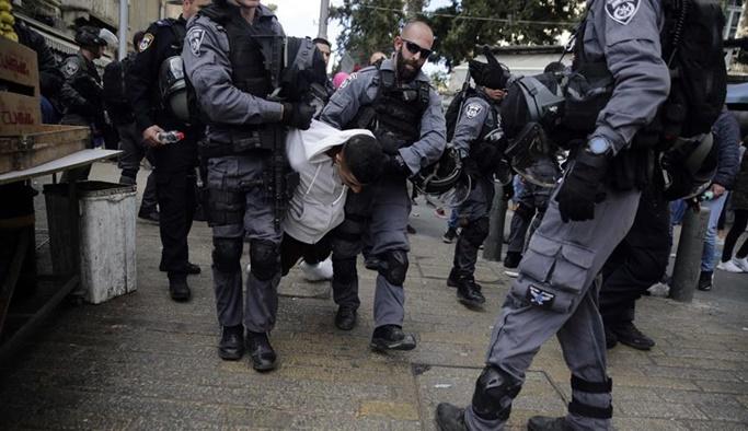 İsrail güçleri 27 Filistinliyi gözaltına aldı