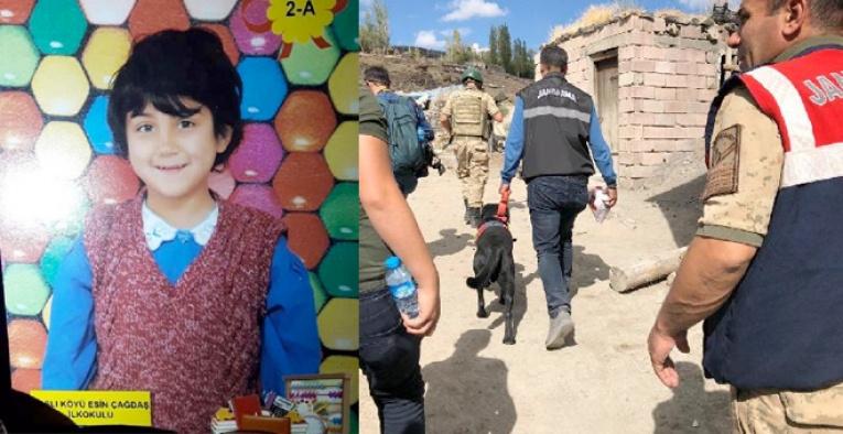 Kars'ta kaybolan Sedanur için aramalar devam ediyor