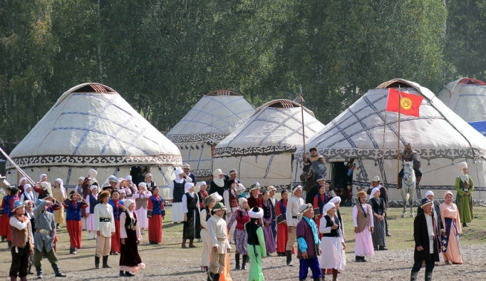 Kırgızistan'da 3. Dünya Göçebe Oyunları heyecanı